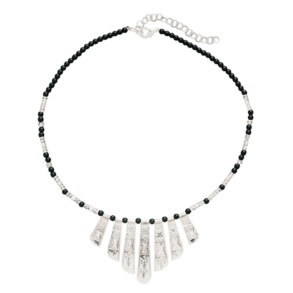 Silver Desert Necklace